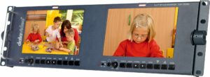 Twin HD monitors