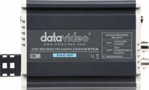 Datavideo 8P hire, HDSDI to HDMI converter hire, SDI to HDMI hire