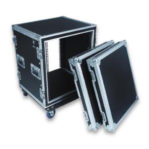 14U wheeled rack case