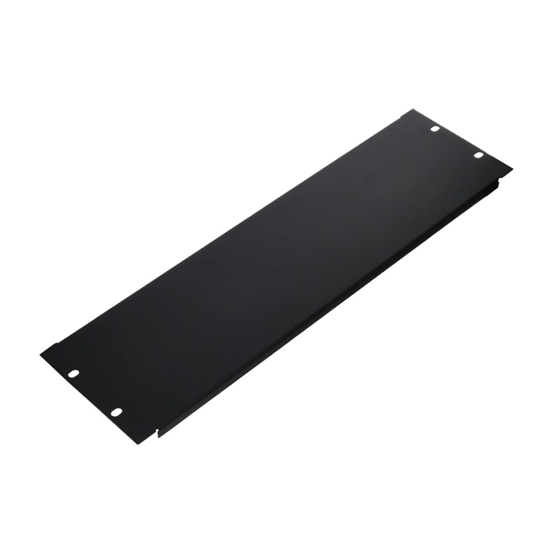 3u blank rack panel flanged