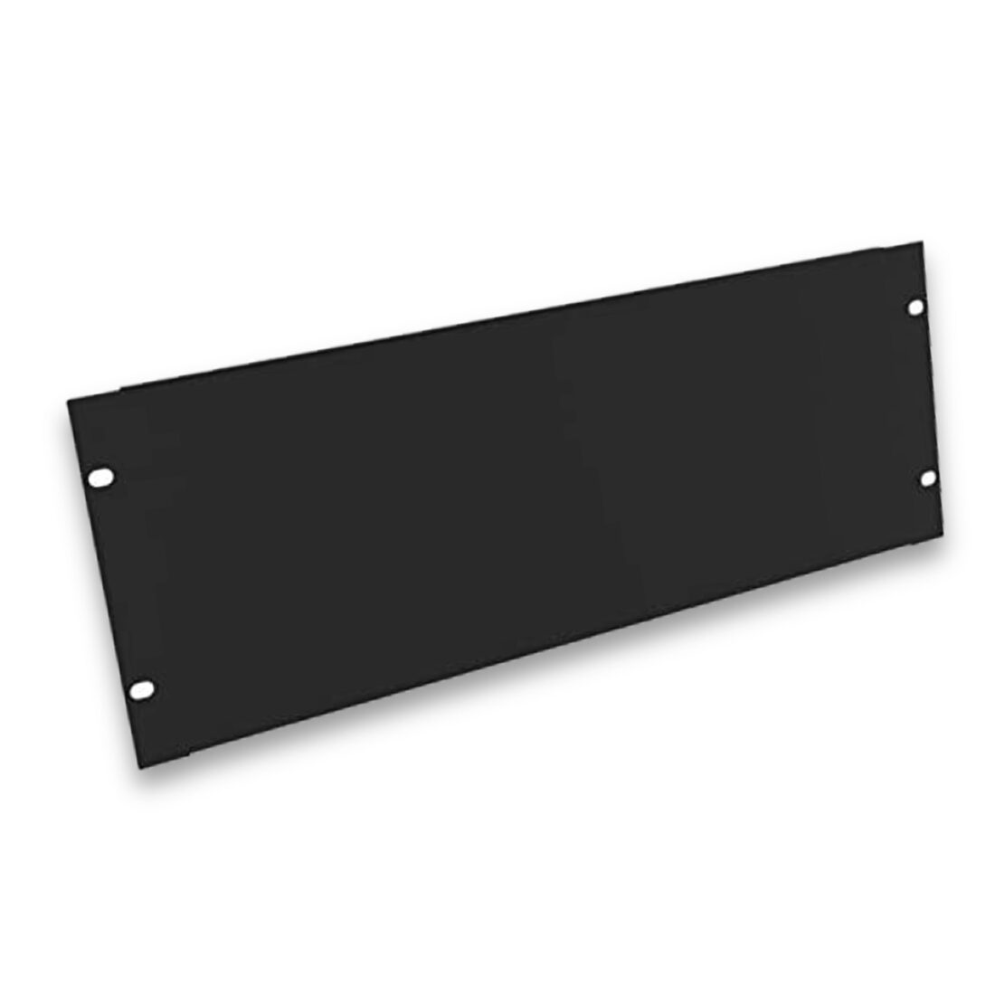 "4u flanged blank 19"" rack panel"