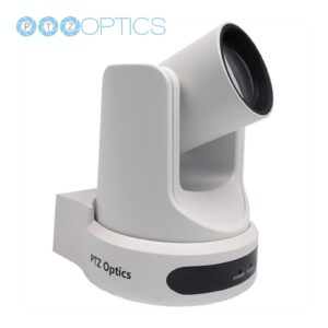 PTZ Optics cam white