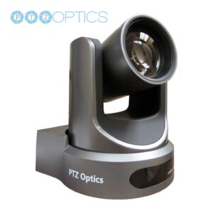 PTZ Optics camera grey
