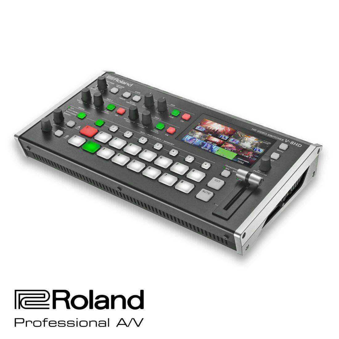 Roland V-8HD switcher