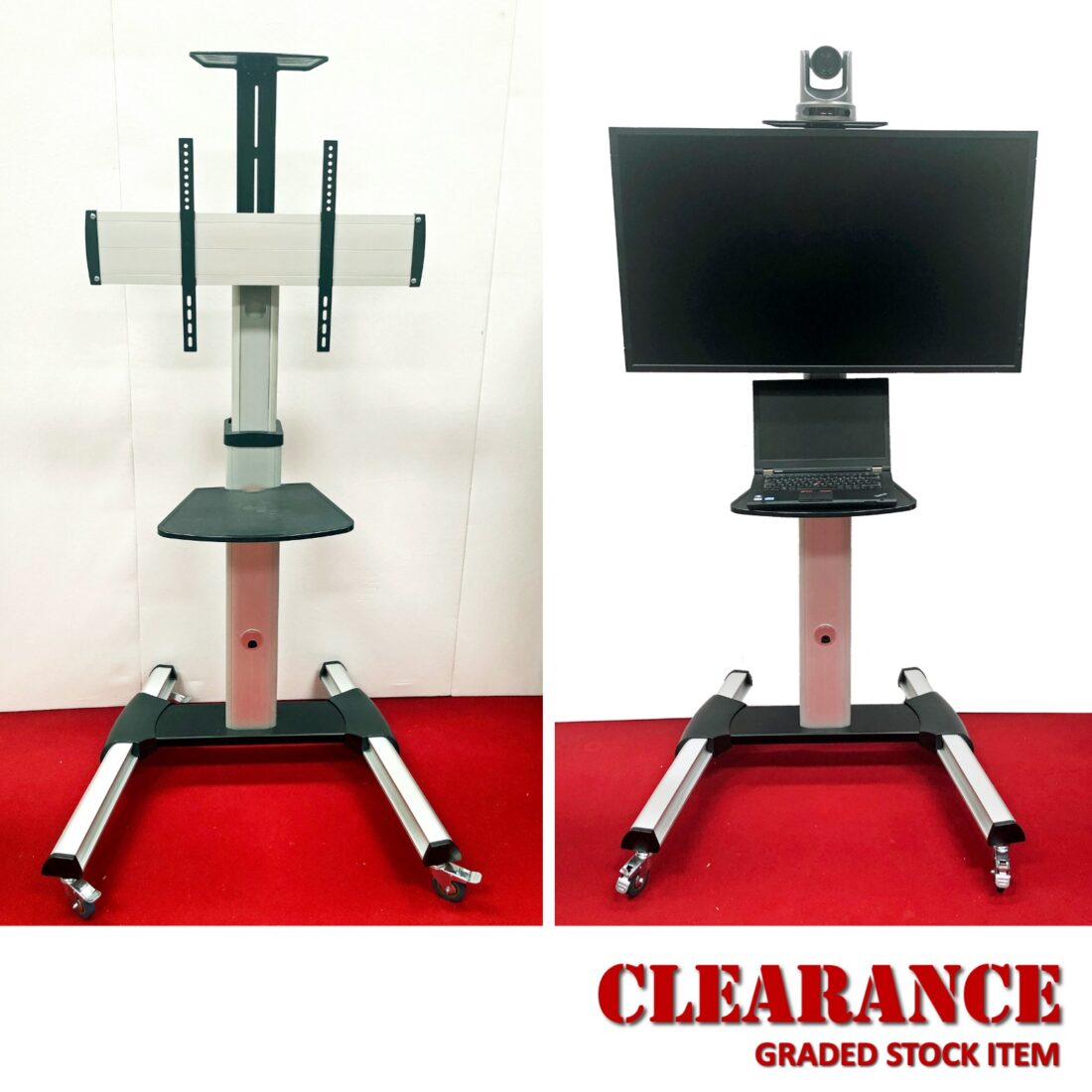 TV / video conferencing stand