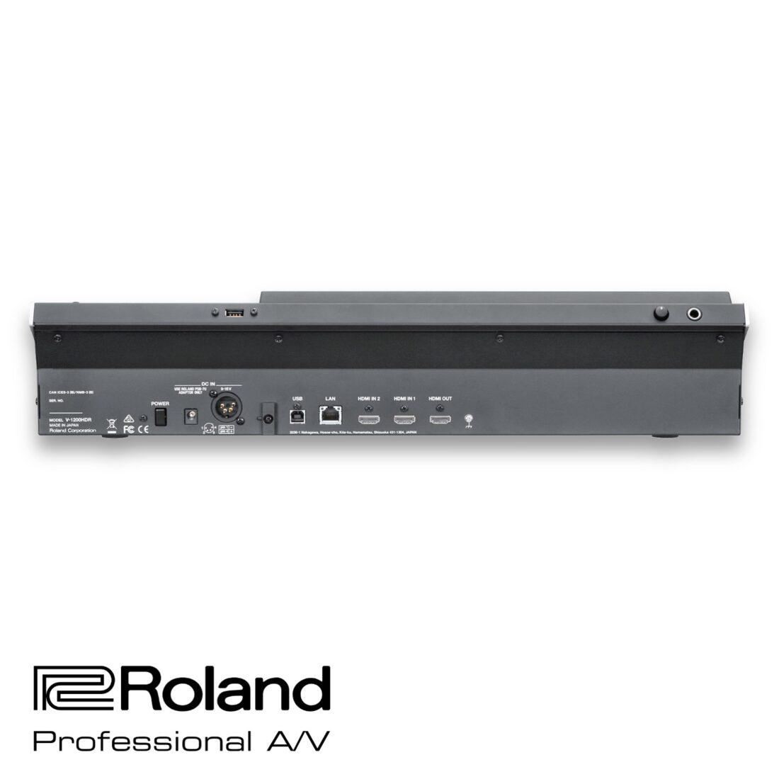 Roland V-1200HD panel